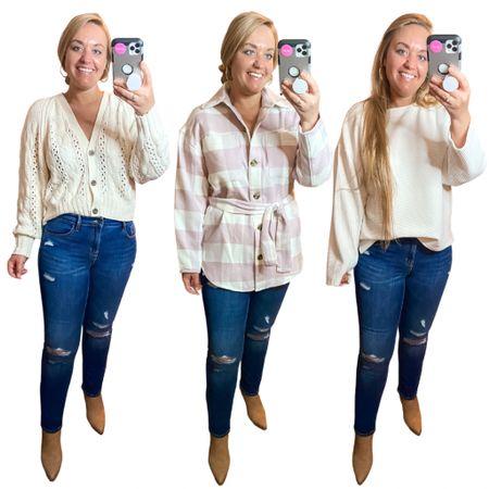 Target tops under $35 Shacket Fall sweaters Target sweaters   #LTKunder50 #LTKstyletip #LTKSeasonal