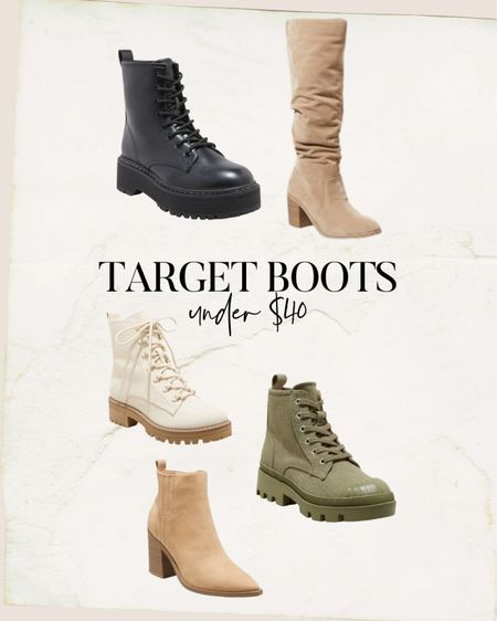 Fall boots under $40