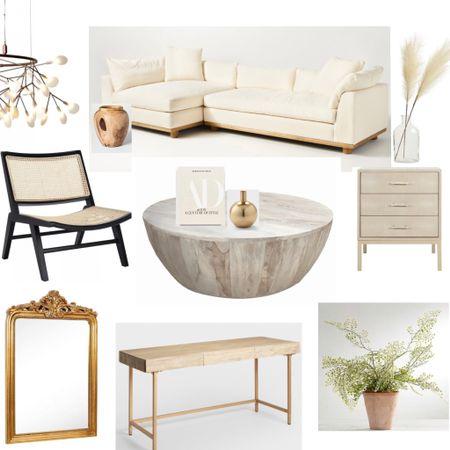 Organic modern finds for your living room  #LTKfamily #LTKunder50 #LTKhome