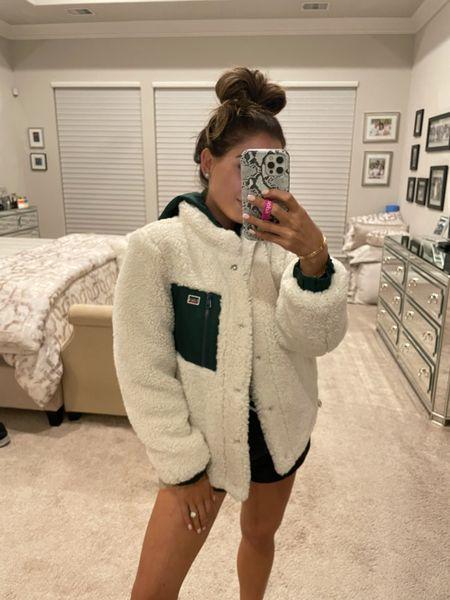 Cozy sherpa jacket in Xs on sale NSALE Levi's   #LTKsalealert #LTKunder50 #LTKunder100