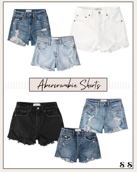 Abercrombie shorts finds! All on sale and perfect for summer🙌 #abercrombie #shorts #summerfashion #ltkday    #LTKunder100 #LTKsalealert #LTKSeasonal
