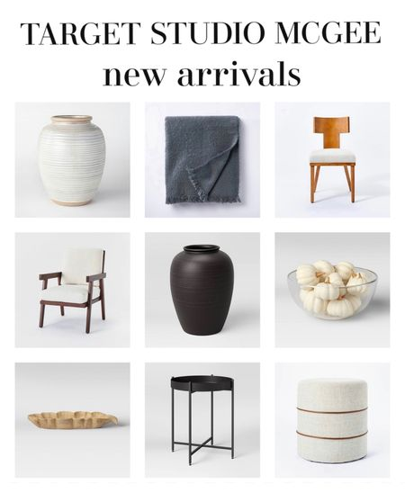 So many great looking new arrivals for the home / home decor from Target. Vases chairs tables furniture   #LTKstyletip #LTKhome #LTKunder100