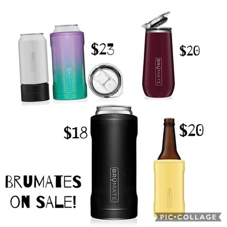 I love my @brumate coozies! I have the slim (bottom left) and the trio (top left). I use them both all the time camping, campfires, pool deck, tailgating, any outdoor event really. 😆 These are great prices for them on @amazon and great gift ideas for so many people on your list!   http://liketk.it/32vEV #liketkit @liketoknow.it   Follow me on the LIKEtoKNOW.it shopping app to get the product details for this look and others