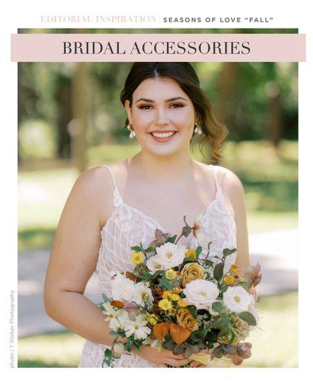 Fall bridal accessories!   #LTKstyletip #LTKSeasonal #LTKwedding