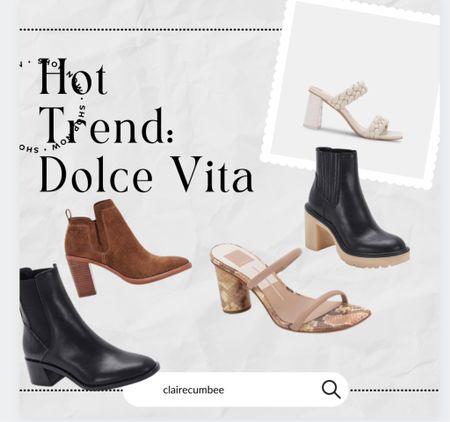 Dolce vita hottest shoes Sorority rush Leather heels Back to school Fall basics Fall boots Work shoes Office   #LTKshoecrush #LTKbacktoschool #LTKworkwear