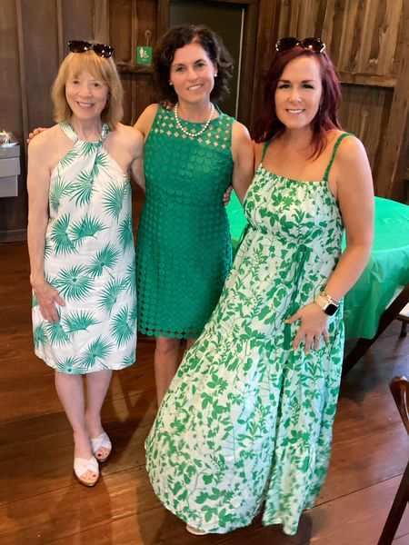 ᭙ꫝꪖ𝓽 ꪖ ꪀ𝓲ᧁꫝ𝓽!!! 💚🤍💚🤍💚🤍💚🤍💚🤍  Celebrated thing two's graduation last night with ALL the Bobcat green and white. Great location at a local barn, catering by @chopped , and all our people. So much in one place after 17 months of isolation and disruption. Scroll for the photo dump .  I am SUPER happy to definitively say is it TIME TO GET DRESSED AGAIN!  People are happy to have places to go and it is time. I know I know—it's been ages since regular grooming and maybe you're not feeling your best, that's why I am embracing dresses all summer!  A one-and-done style that is cool and effortless. Try it out as your gateway fashion before we head back to jeans season.   Haven't seen anything cute?  I found a ton @nordstrom and linked them for you all. My #anniversarysale looks are also linked on my bio page. You can instantly shop my looks by following me on the LIKEtoKNOW.it shopping app or check it out here http://liketk.it/3jUnI @liketoknow.it  • • •  #liketkit #LTKstyletip #LTKunder100  #LTKdresses