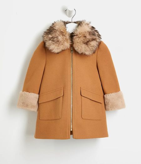 The chicest toddler coat!