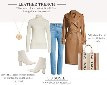 How good is this camel color for fall?! I love this trench coat   #LTKworkwear #LTKSeasonal #LTKstyletip