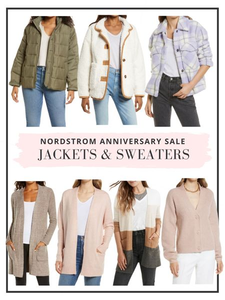 Nordstrom anniversary sale is now open to the public! Here's our top picks for sweaters & jackets! http://liketk.it/3kGCI #liketkit @liketoknow.it #nordstrom #anniversarysale