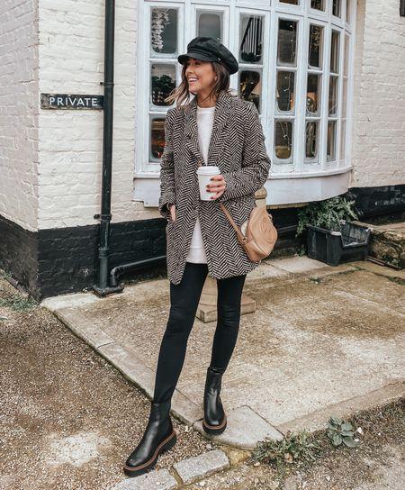 blazer, Shopbop sale, Chelsea boots, fall outfit 🖤   #LTKsalealert