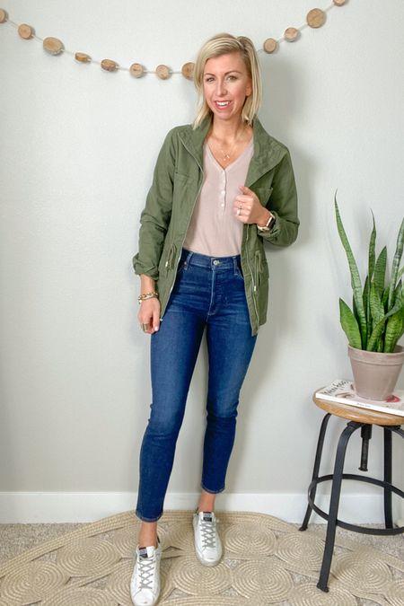 http://liketk.it/3adNp #liketkit   @liketoknow.it  spring denim trend to try: the slim straight  Effortless & chic! I love this hybrid between a skinny & straight leg jean #LTKstyletip #LTKworkwear #LTKSeasonal