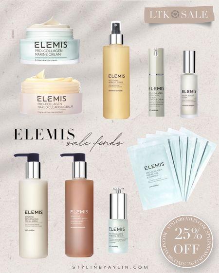 LTK DAY SALE- 25% off- USE LINKS HERE TO RECEIVE SALE DISCOUNT CODE- beauty sale, Elemis, summer beauty finds, skincare, StylinbyAylin @liketoknow.it #liketkit http://liketk.it/3hgVm   #LTKDay #LTKsalealert #LTKunder50