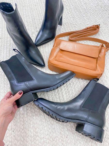New ABLE favorites // Wilma boot (tts), Olivia cognac crossbody, Amber boot (size down .5)   #LTKshoecrush #LTKstyletip