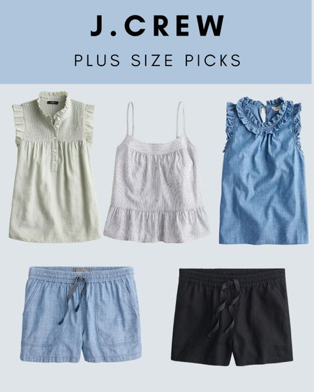 JCrew has great options for plus size pieces. These are my favorites and come sizes up to a 3X or 24W Plus size fashion http://liketk.it/3iBNu #liketkit @liketoknow.it #LTKcurves