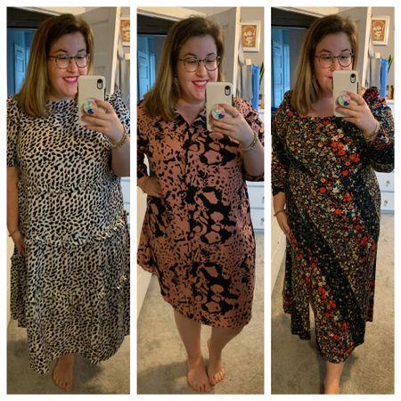 Patterns & dresses galore for this ASOS Curve try on & haul!   #LTKcurves #LTKunder50 #LTKsalealert