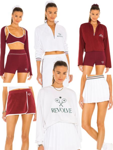 Revolves New tennis club line is too good