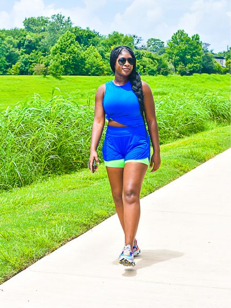 Long walks in these running shorts are the most comfortable. http://liketk.it/3jvF4 #liketkit @liketoknow.it #LTKstyletip #LTKfit