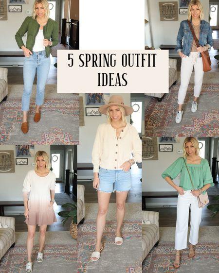 #liketkit @liketoknow.it http://liketk.it/3fIUa  5 easy spring outfit ideas #LTKunder100 #LTKunder50 #LTKstyletip