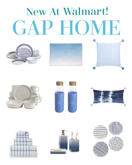 Love everything about this beautiful new home decor line at Walmart. Gap home has the prettiest tabletop dishes towels throw pillows and even water bottles http://liketk.it/3k5Zf #liketkit @liketoknow.it   #LTKhome #LTKunder50 #LTKstyletip