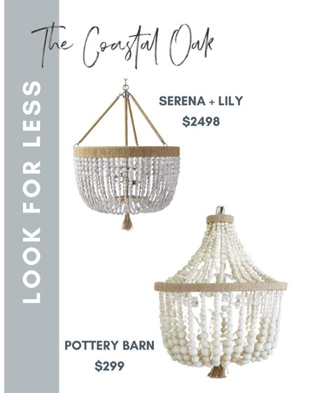 Found a beaded serena and Lily look for less chandelier!   #LTKhome #LTKSeasonal