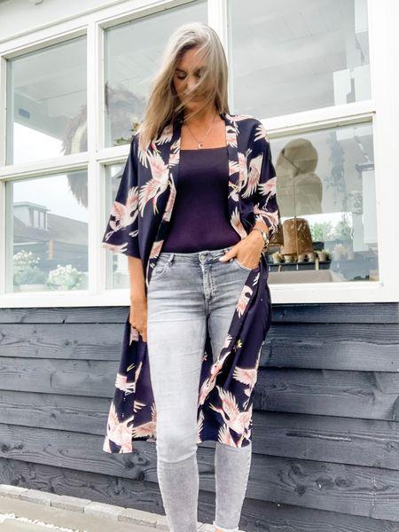 "Kimono love!  Wearing a medium kimono and bodysuit and a L/34"" jeans.    #LTKtravel #LTKeurope #LTKstyletip"