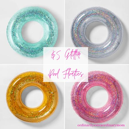 $5 Glitter Floaties from Target http://liketk.it/3hx8d #liketkit @liketoknow.it #LTKswim #LTKunder100 #LTKfamily