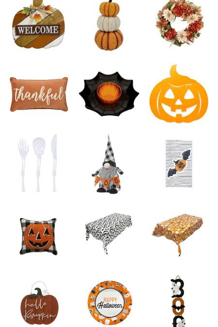 Halloween and fall Decour up to 40% off! Perfect for decorating and for holiday gatherings!  #LTKunder50 #LTKHoliday #LTKsalealert