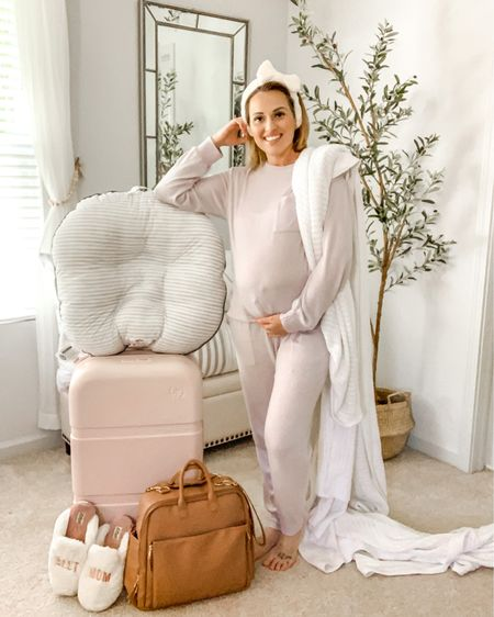 Where my soon to be mamas, ladies planning to be mamas or almost mamas who feel like they need their mamas 😆   • Our due date is soon approaching to finally meet Sweet Baby Caleb and it's got me embracing all the nesting vibes. Today on my YouTube channel I'm sharing my must haves for mine and Calebs hospital bags including a checklist and shopable links that you can use for your convenience. As a 2  nd time mom I'm much more confident about what I'll need this time. All of these are perfect for a vaginal birth or c section 👌  • 💕 Visit LeannaMichelle.com Click on YouTube  Like, Subscribe and Comment your must haves 😍  I also linked a few in my LIKEtoKNOW.it but everything from the video is linked in the video description 🎥   http://liketk.it/3e03A #liketkit @liketoknow.it   #LTKbump #LTKfamily #LTKbaby