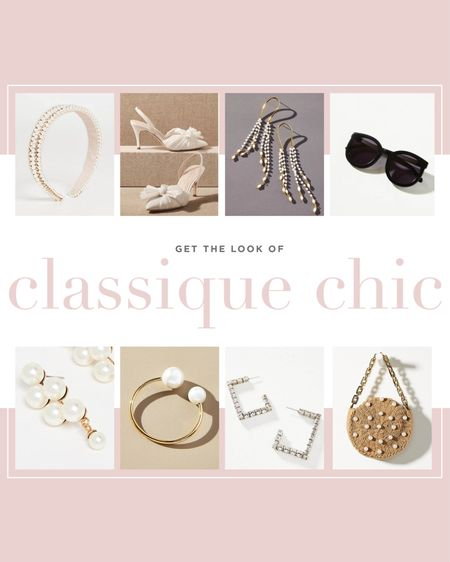 CLASSIQUE CHIC accessories for the chicist of chic brides. 😍  #LTKstyletip #LTKwedding #LTKshoecrush