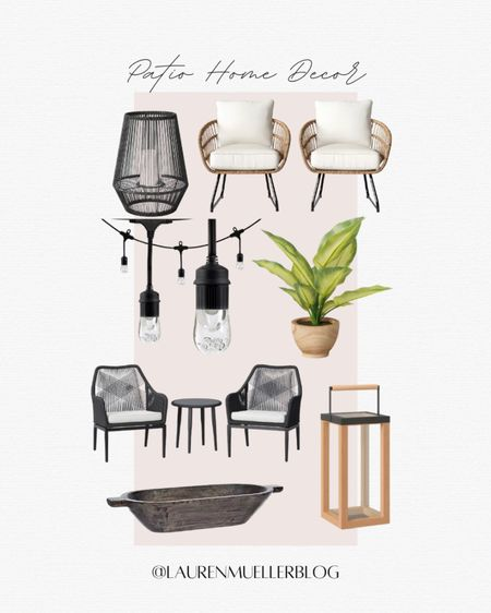 summer patio update // patio furniture deals // boho patio // http://liketk.it/3d7zY #liketkit @liketoknow.it
