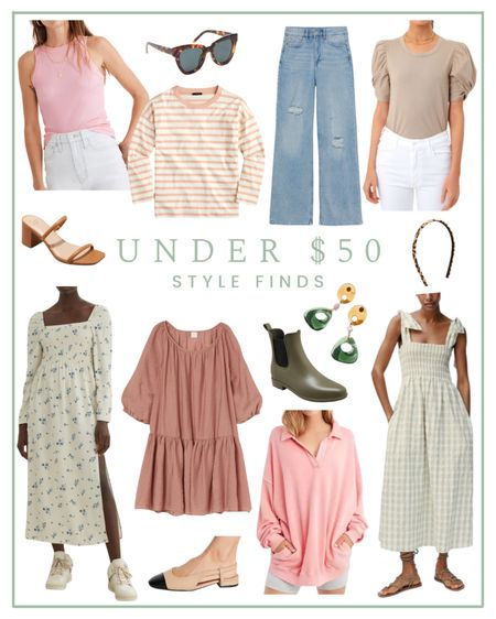 Under $50 style finds   #LTKunder50 #LTKSeasonal