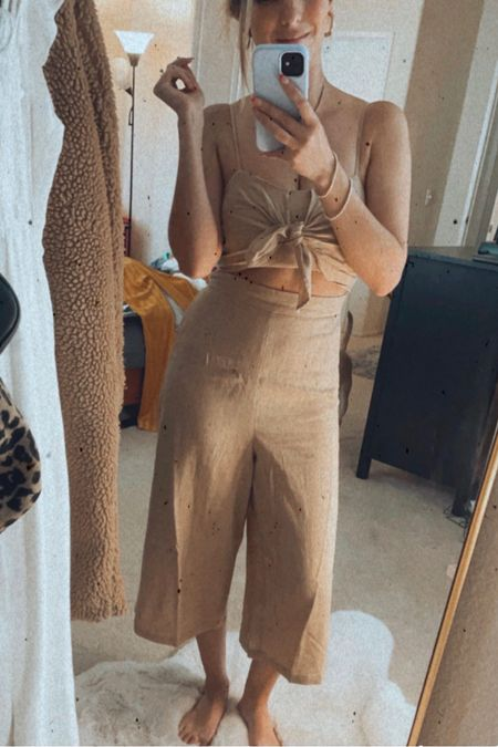 Perfect jumpsuit for the summer time! I got an XS but could've done a S too as the XS is very small. @liketoknow.it http://liketk.it/3efKS #liketkit #LTKfit #LTKunder50