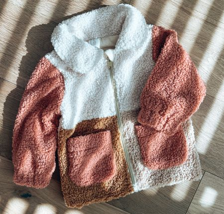 Got Rosalie the cutest little soft faux shearling jacket for fall & winter. So cute that I got it in 2 different sizes ☺️   #LTKbaby #LTKunder50 #LTKfamily