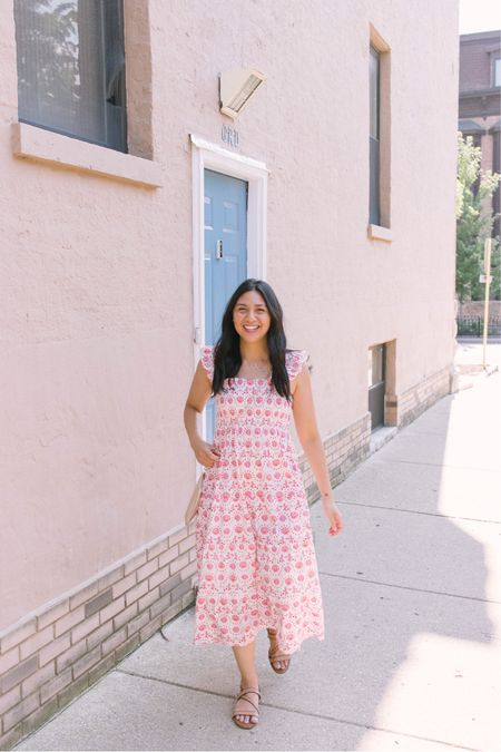 Best summer dress / smock dress is the hill house Nap dress especially the Ellie nap Dress. It runs big so size down. I normally wear size small but had to size down to size XS. it's a bump friendly dress so it's great for maternity and also postpartum friendly.   #LTKstyletip #LTKSeasonal
