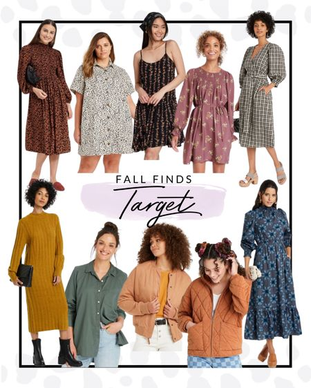 Target has some incredible dresses and shirts that are perfect for fall transition and to wear all season long!   #LTKSeasonal #LTKcurves #LTKunder50