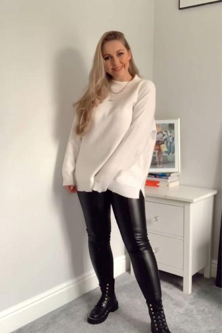 Autumn wardrobe staples; white jumper   #LTKeurope #LTKSeasonal #LTKunder100