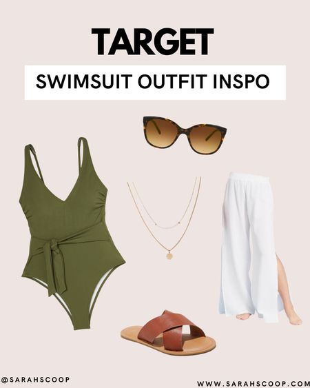 Fashion isn't only for the streets. Look stylish this summer by the pool! Check out this swimsuit outfit inspo from Target now! ☀️ #swim #swimsuit #outfinspo #target #pool #summer  #LTKSeasonal #LTKswim #LTKstyletip