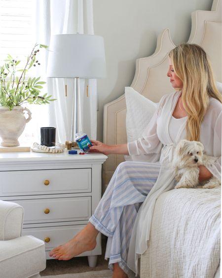 Bedroom decor, bedroom furniture, upholstered bed