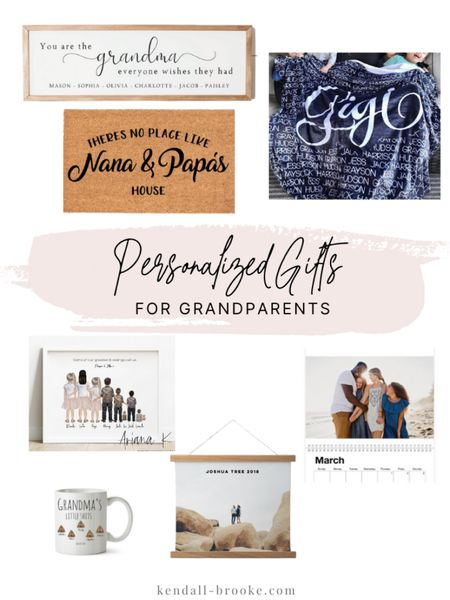 Personalized gift for grandparents http://liketk.it/33EQA #liketkit @liketoknow.it  #LTKgiftspo
