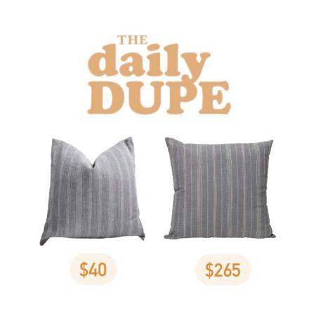 Home Decor, Throw Pillow, Daily Dupe, Save vs Splurge