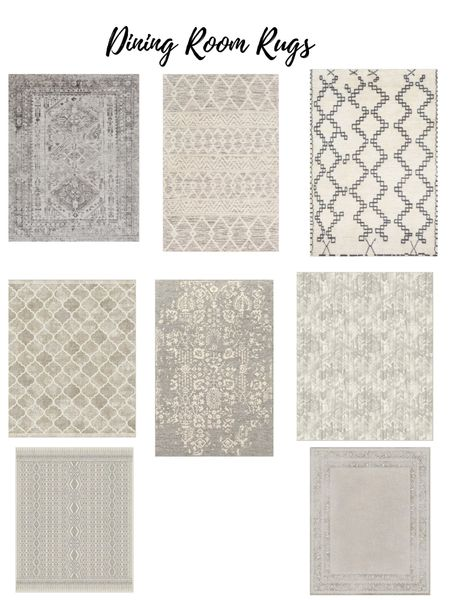 Dinning room rugs http://liketk.it/39dTt #liketkit @liketoknow.it #StayHomeWithLTK #LTKhome #LTKstyletip