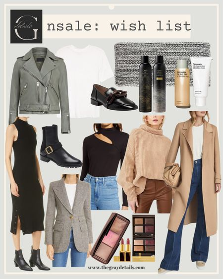 Public access tomorrow! I would focus on basics such as a great leather jacket or coat, a pair of boots, sweaters, and black work dress abs and beauty exclusives   #LTKbeauty #LTKworkwear #LTKshoecrush