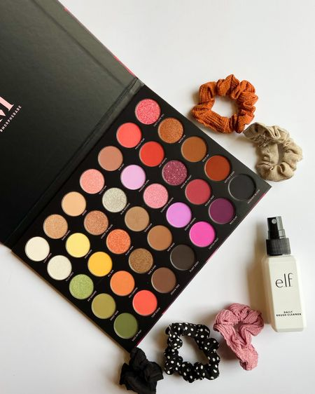 I'm loving this gorgeous birthday present! The Morphe 35D eyeshadow palette is beautiful! I also love Elf's Daily Brush Cleanser and you can never have enough scrunchies! Shop your screenshot of this pic with the LIKEtoKNOW.it shopping app   #liketkit #LTKbeauty #LTKstyletip #LTKunder50 @liketoknow.it http://liketk.it/3jx8N
