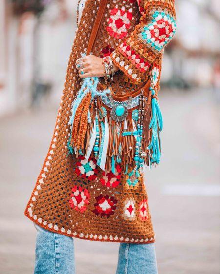 About that bag!  Beautiful bohemian style bag ready for autumn 🍂   #LTKeurope #LTKitbag @liketoknow.it #liketkit http://liketk.it/2W3BC