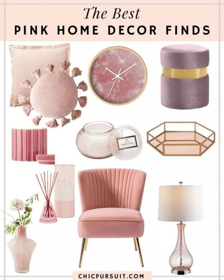 The best blush pink home decor finds!! Loving these blush pink pieces for your home 💕 http://liketk.it/3guqG @liketoknow.it #liketkit #LTKhome #LTKstyletip