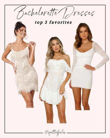 Bachelorette party dresses, little white dress, Bachelorette trip dress, bride to be dress  #LTKwedding #LTKunder100 #LTKstyletip #liketkit @liketoknow.it http://liketk.it/3jvF5