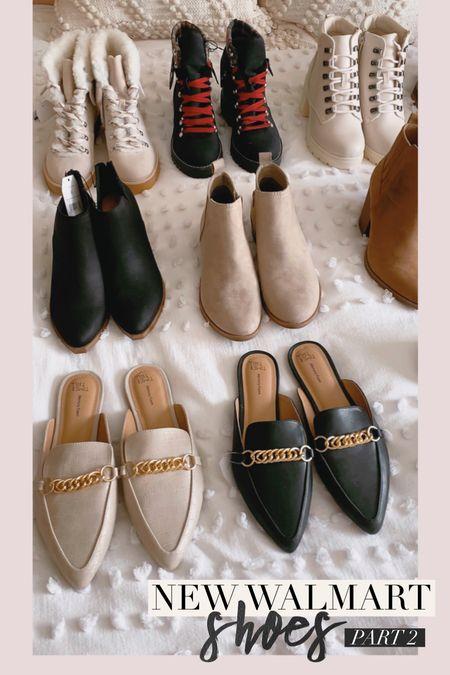Walmart shoe haul #timeandtru #timesndtruboots #bootsunder30 #walmartshoes #walmartboots #fallsneakers #timeandtrushoes #ltkunder30 #shoehaul     #LTKSeasonal #LTKshoecrush #LTKunder50