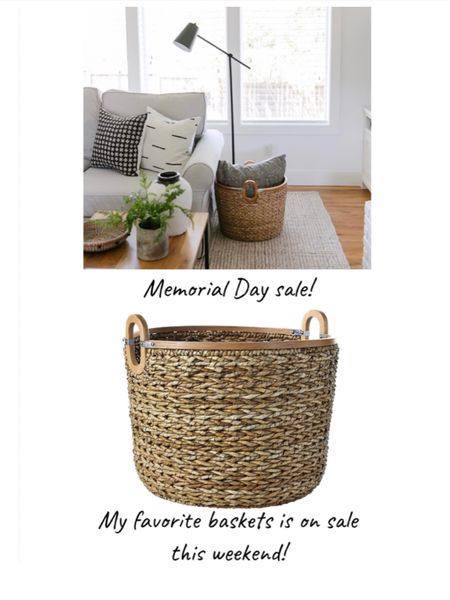 My very favorite basket is on sale this weekend!  Comes in 3 sizes and is perfect for blankets, pillows, toys, shoes.    You can instantly shop my looks by following me on the LIKEtoKNOW.it shopping app http://liketk.it/3gcwW #liketkit @liketoknow.it @liketoknow.it.home   #LTKhome #LTKsalealert #LTKstyletip