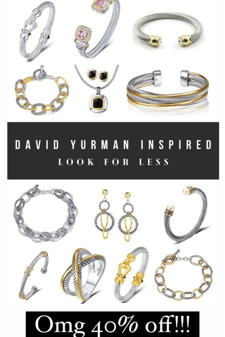 #ltksale #ltkfall David Yurman look alikes 40% off!!!   #LTKSale #LTKstyletip #LTKunder50
