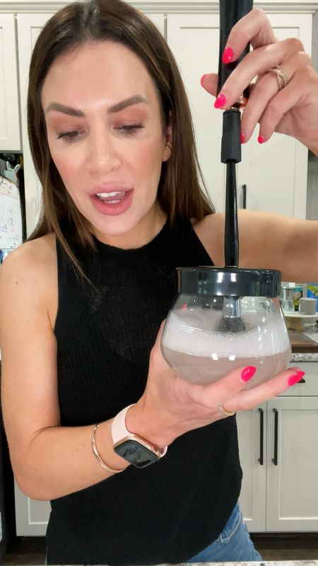 Amazon finds part 23  Grab a glass of wine, water, sweet tea, tequila, whatever makes you happy, and let's test out this automatic makeup brush cleaner and dryer! . #amazon #amazonfinds   #LTKbeauty #LTKunder50